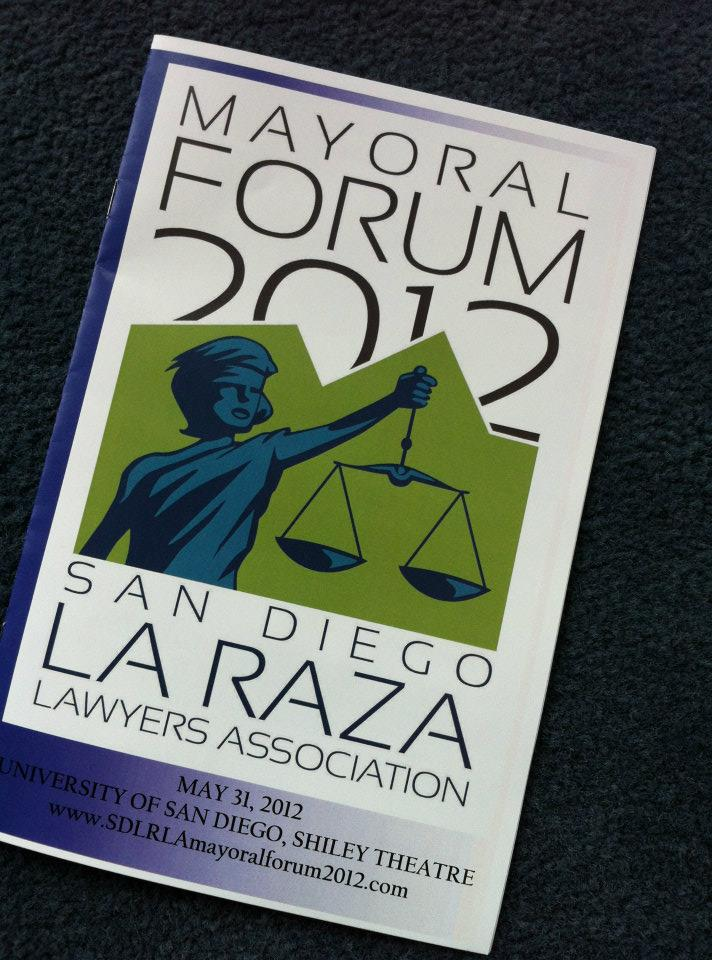 Mayoral Forum 2012